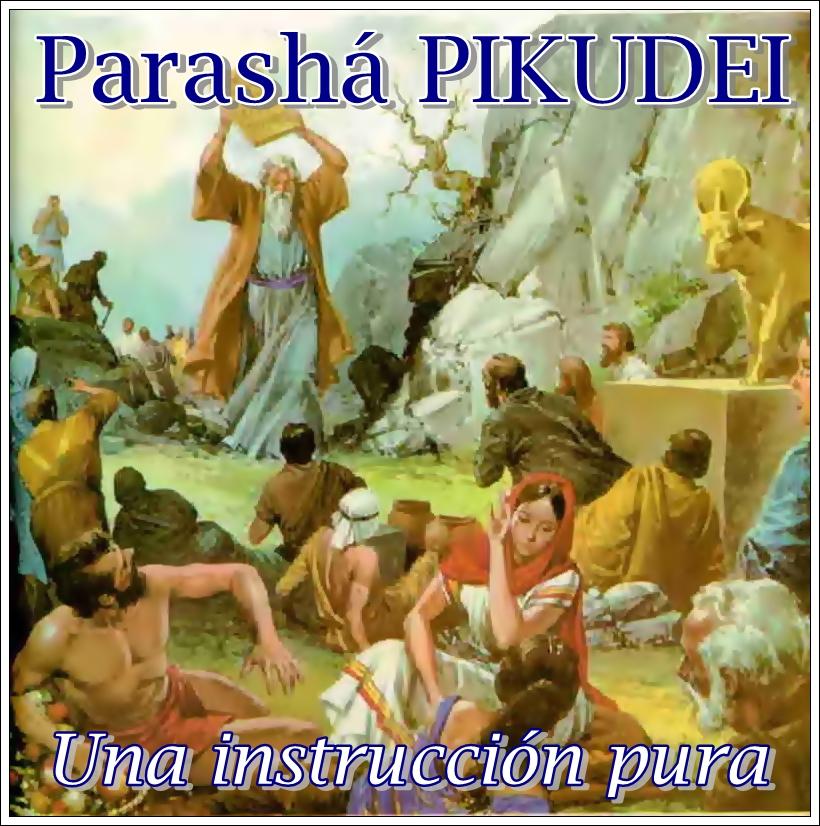 Parasha Pikudei